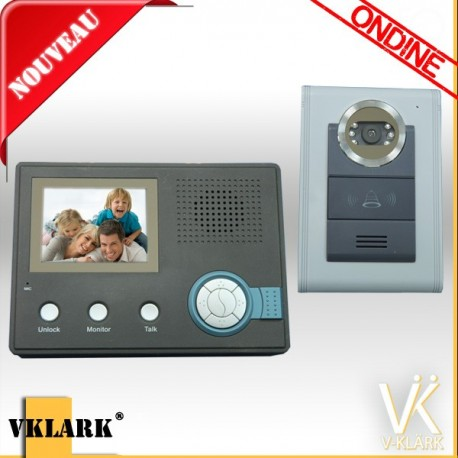 Visiophone - Interphone Ondine expert
