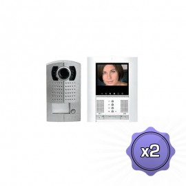 Interphone vidéo V-Klark VDI - PACK DUO