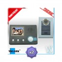Visiophone - Interphone Ondine classic - PACK DUO