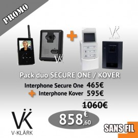 Pack Duo  Interphone Secure One + Interphone Kover