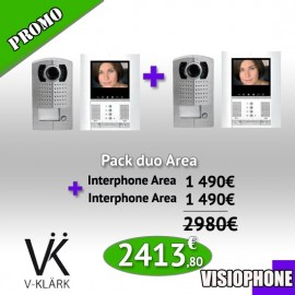 Pack Duo Visiophone Area
